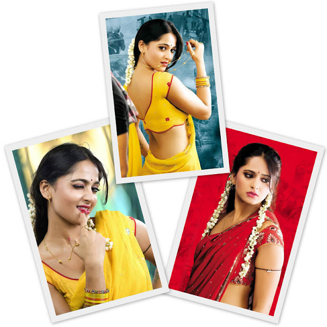 Hot Anushka sexy in saree photoshoot
