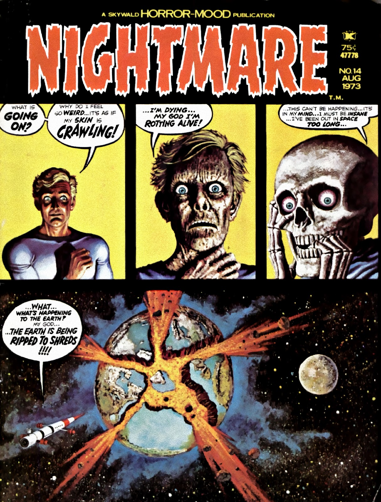 Nightmare (1970) issue 14 - Page 1