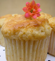 Muffins de Chocolate Blanco