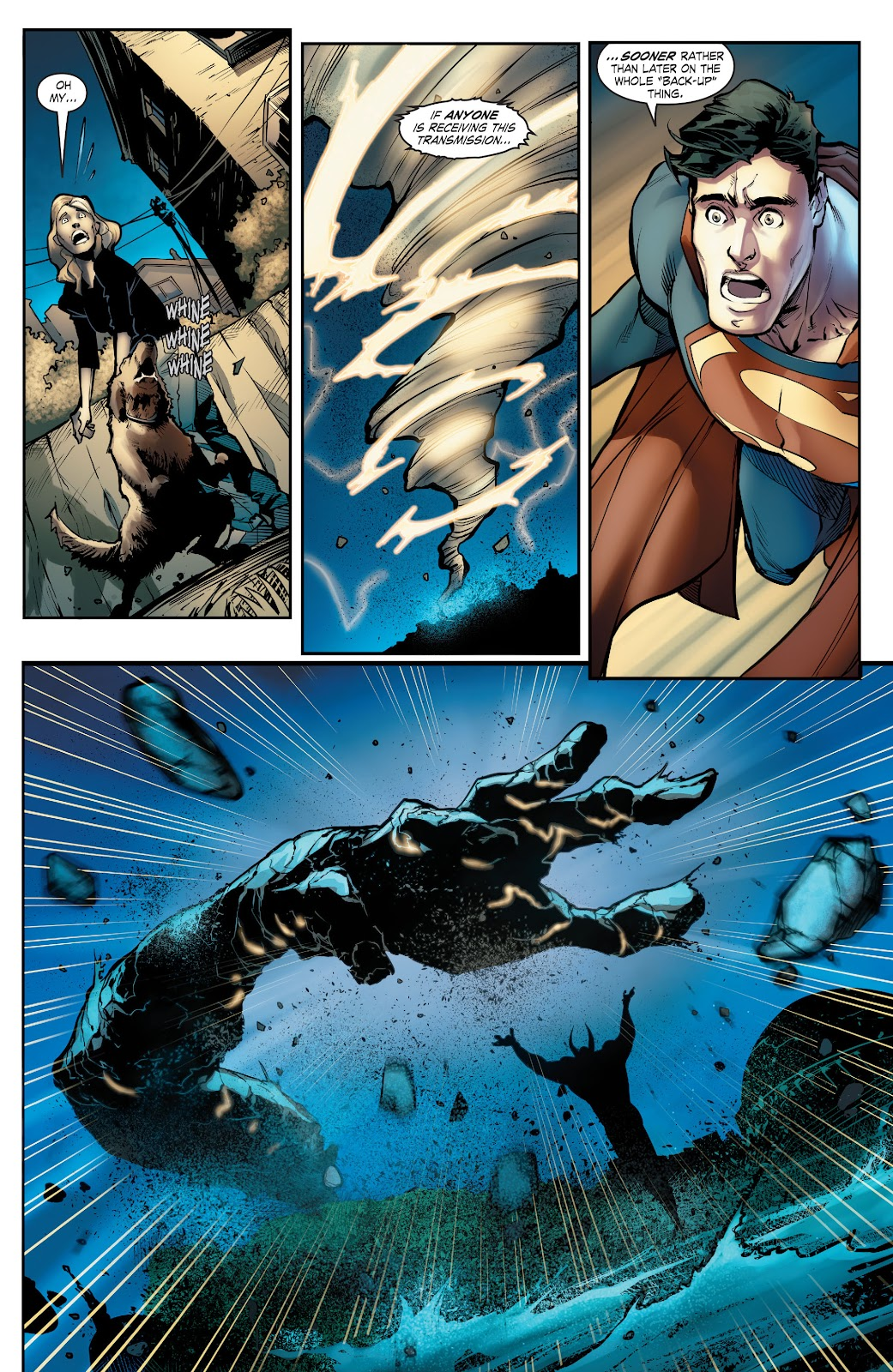 Read online Smallville Season 11 [II] comic -  Issue # TPB 5 - 98