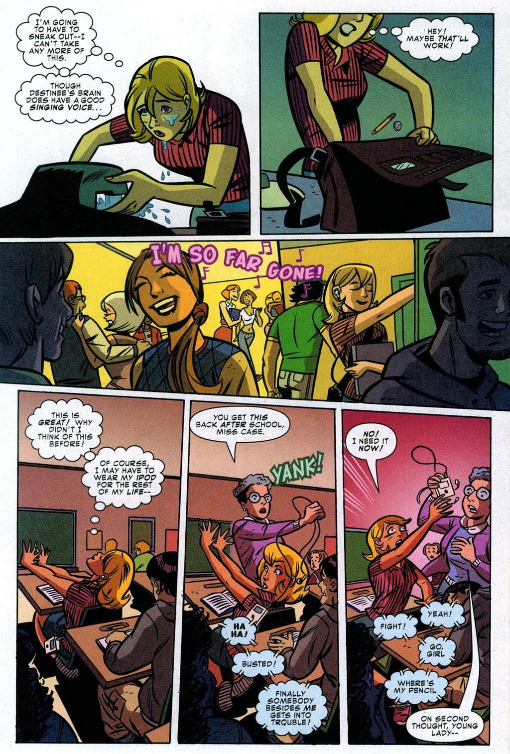 Read online Bad Girls comic -  Issue #3 - 11