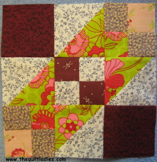 52 Weeks of Quilt Pattern Blocks in 52 Weeks, Week 18 free quilt pattern