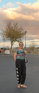 Gaelyn on Halloween Prescott Arizona