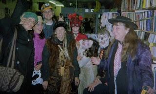 Oregon Caves crew dressed for Halloween Cave Junction Oregon