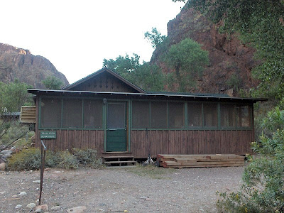 NPS bunkhouse Phantom Ranch Grand Canyon National Park Arizona