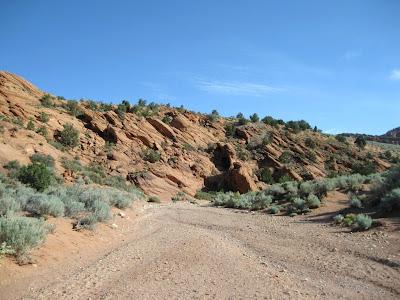 Wire Pass trailhead Arizona