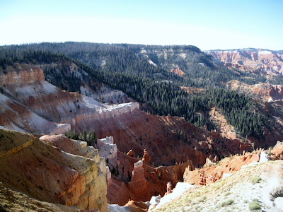 Columbine Ridge and Lavender Canyon Cedar Breaks National Monument Utah