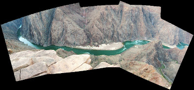 Colorado River from Plateau Point Grand Canyon National Park Arizona