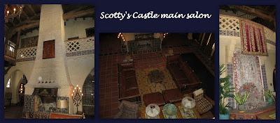 Main salon Scotty's Castle Death Valley National Park California
