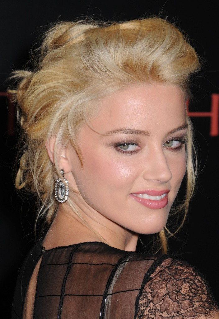2011 Hairstyles Pictures Cute Short Bun Hairstyles for Women 2010 Amber Heard