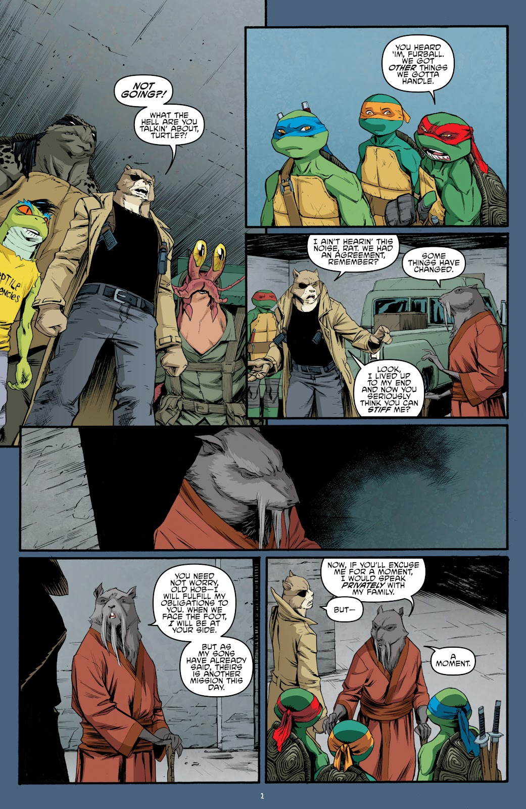 Read online Teenage Mutant Ninja Turtles: The IDW Collection comic -  Issue # TPB 5 (Part 3) - 88