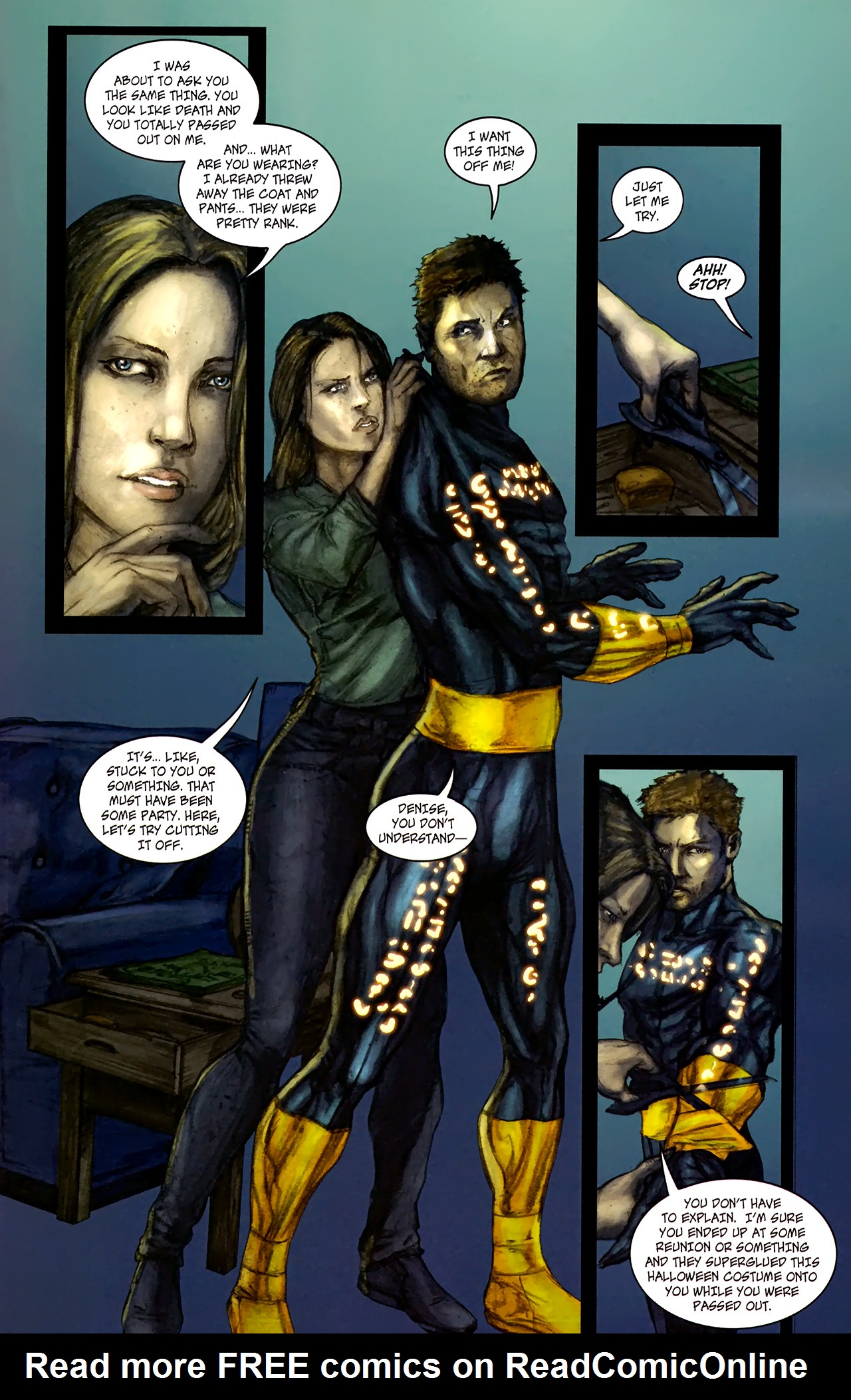 Read online Phoenix comic -  Issue #1 - 21
