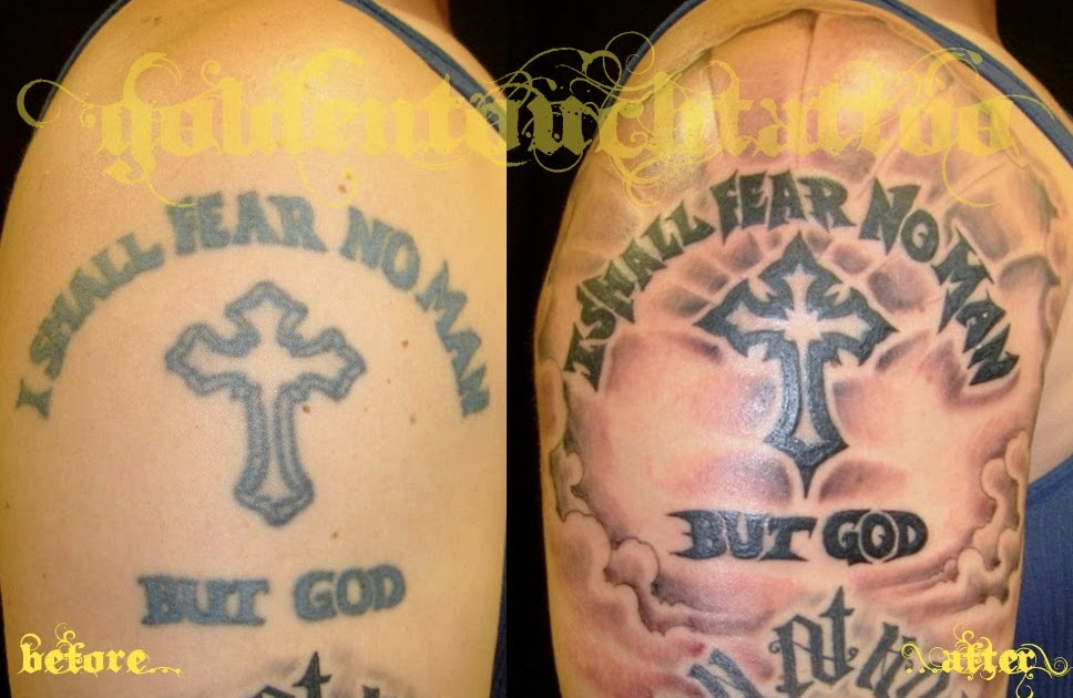 GoldenTouchTattoo: FiXiES + COVER-UP$: Fear No Man