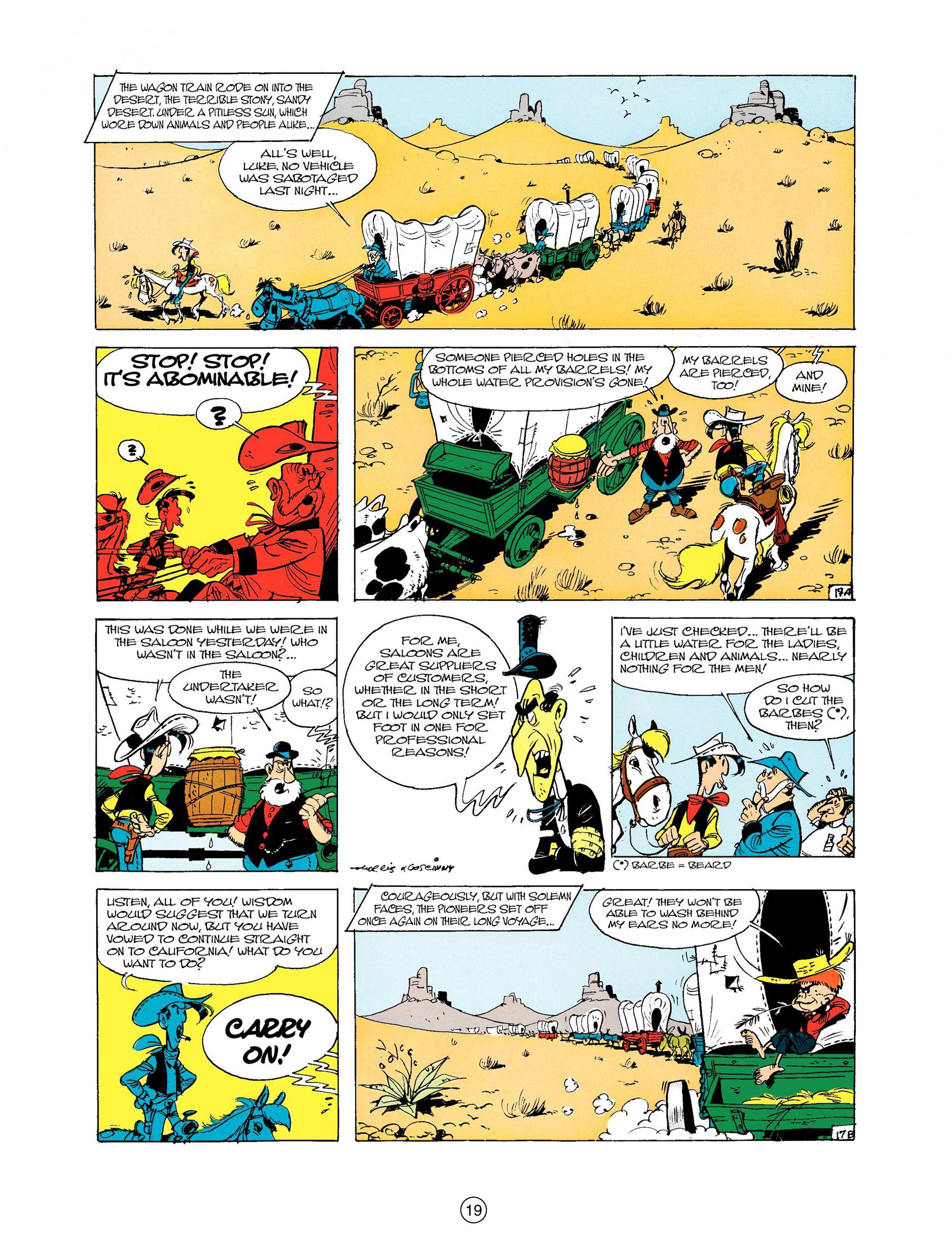 Read online A Lucky Luke Adventure comic -  Issue #9 - 19