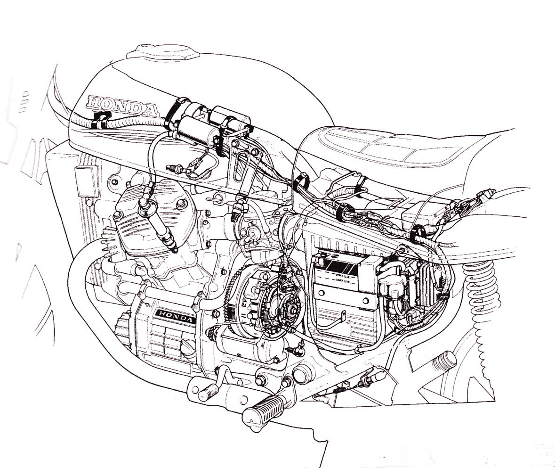Historia Honda Cx500