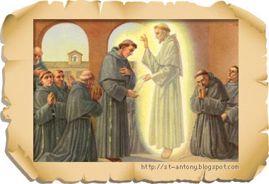 Francis Blesses the Friars!