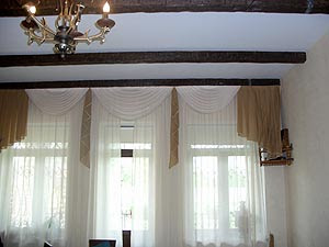living room curtains
