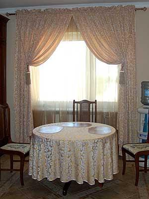 Dining room curtains - 09 Photos - Kerala home design and ... on Dining Room Curtains Ideas  id=37405