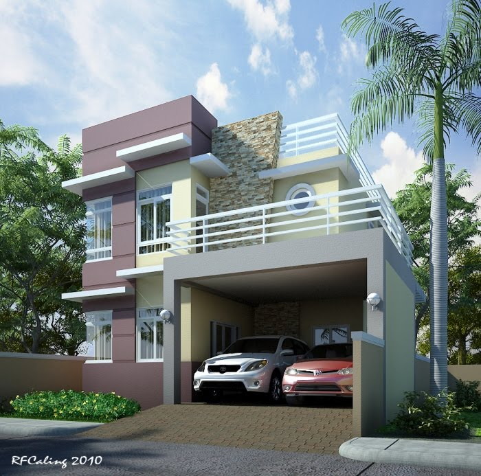 How To Design Home Front Elevation : Awesome home elevation designs in d appliance