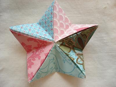 Folder Fabric Star Pattern Free Lena Patterns