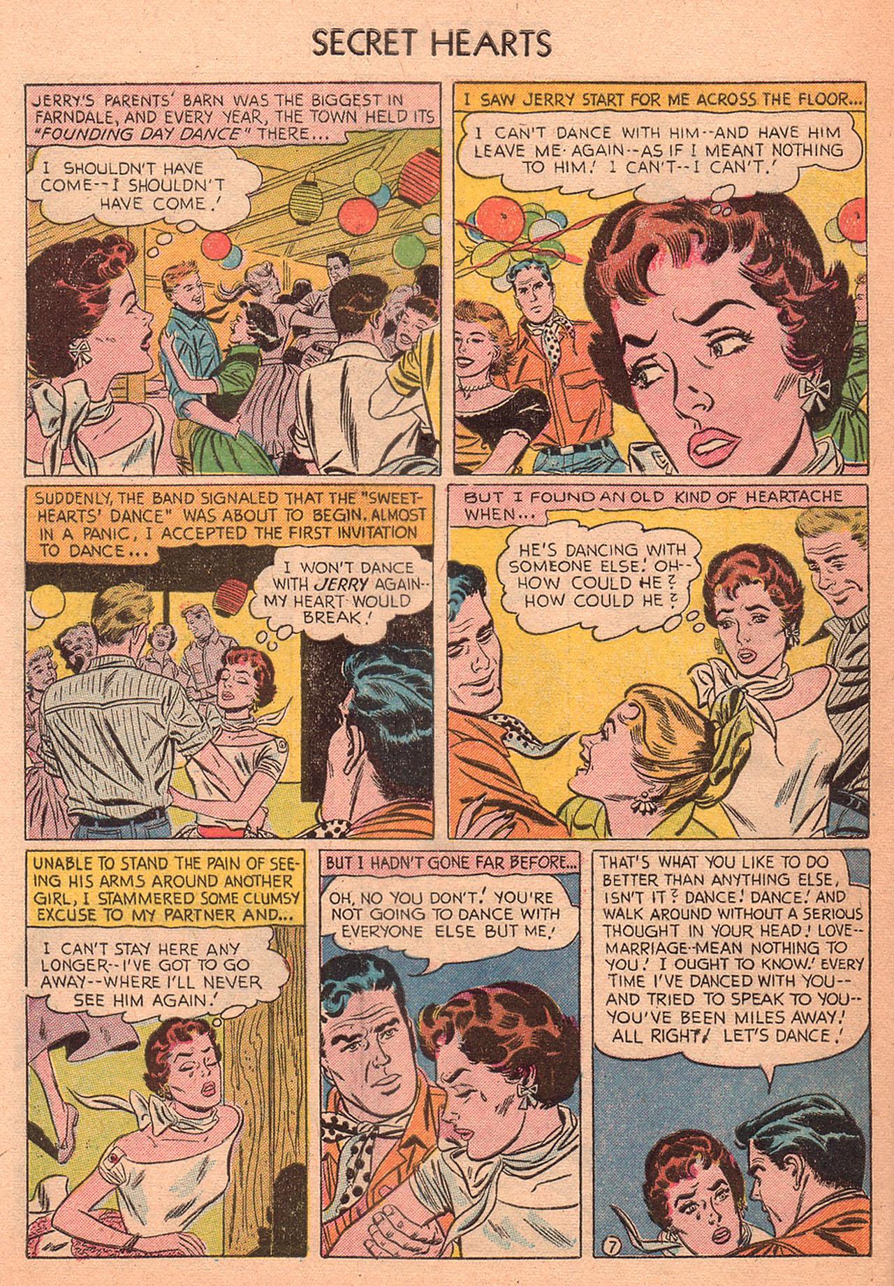 Read online Secret Hearts comic -  Issue #27 - 32