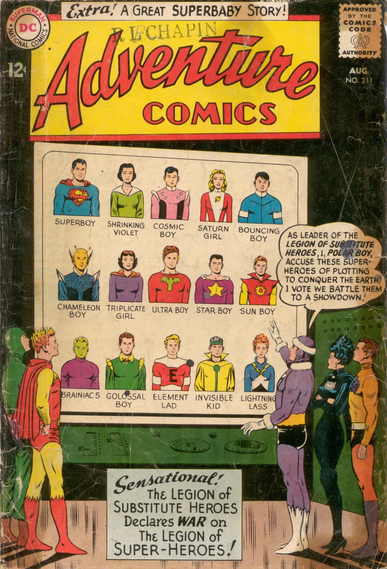 Read online Adventure Comics (1938) comic -  Issue #311 - 1