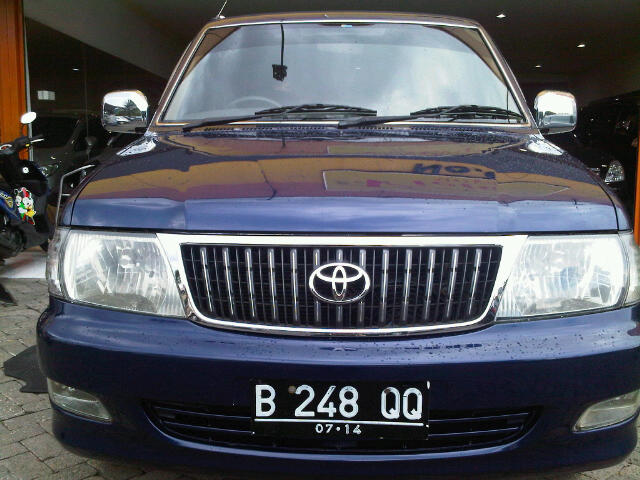 Used Toyota Kijang Lgx Efi All Used Car For Sale