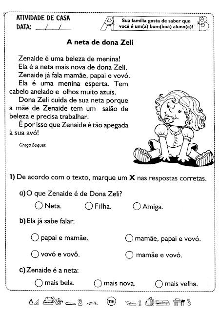 Plano de aula simples de portugues