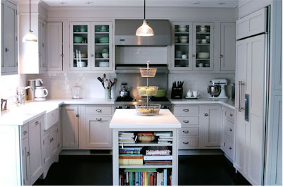 White Wood White Kitchens