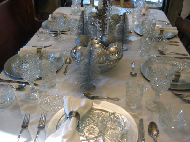A WINTER TABLE SETTING | Lady Katherine Tea Parlor