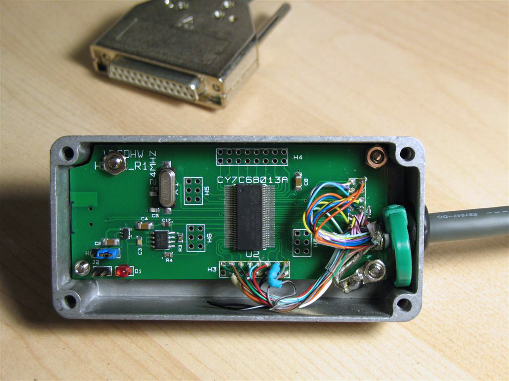 AE1S Amateur Radio Blog: N2PK VNA - USB to Parallel interface