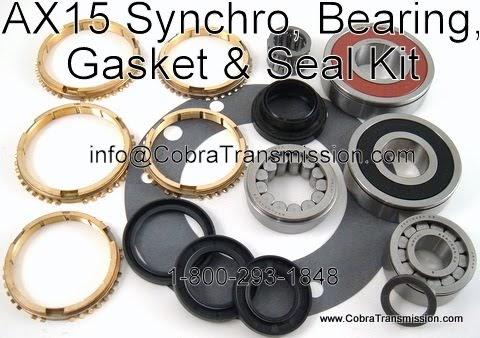 Cobra Transmission Parts 1-800-293-1848: New Shiny Brass For