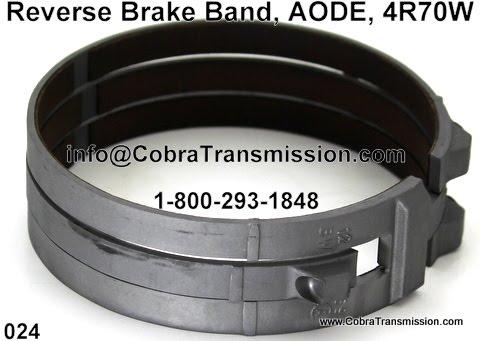 Cobra Transmission Parts 1-800-293-1848: AODE, 4R70W