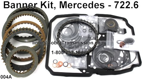 Cobra Transmission Parts 1 800 293 1848 Mercedes Benz 722