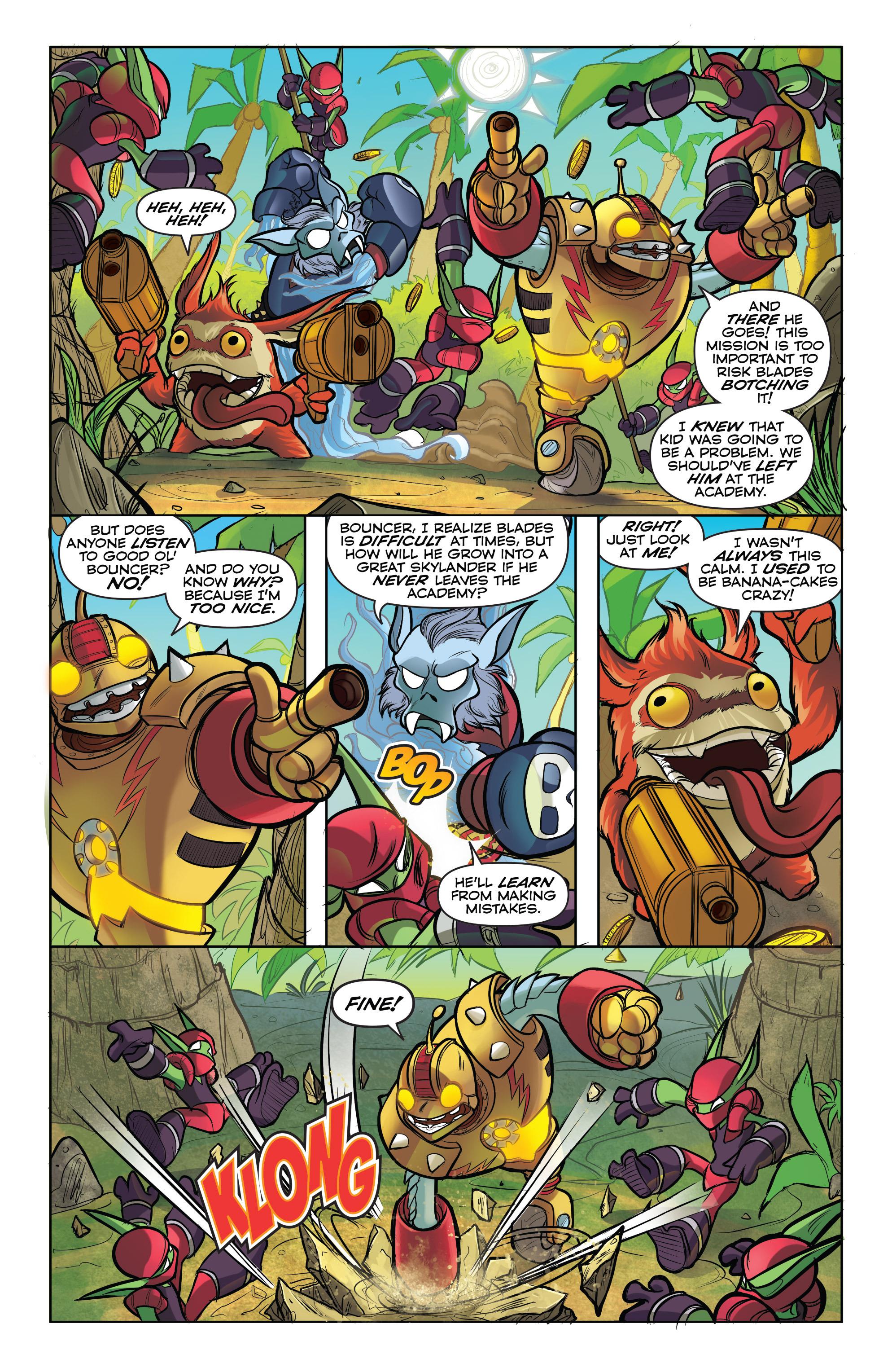 Read online Skylanders comic -  Issue #5 - 4
