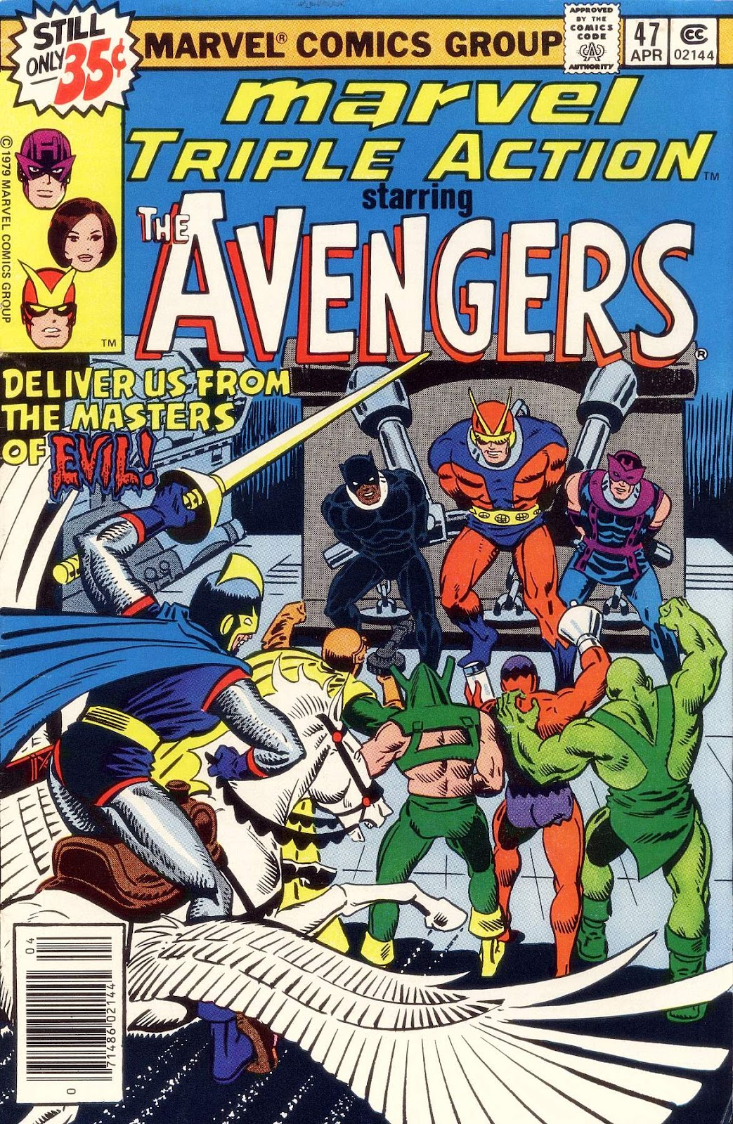 Marvel Triple Action (1972) issue 47 - Page 1