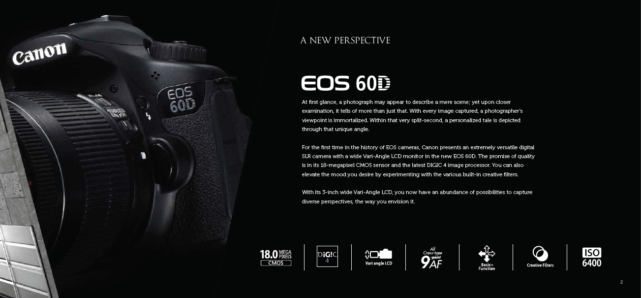 Canon EOS 60D DSLR | All Yours !!