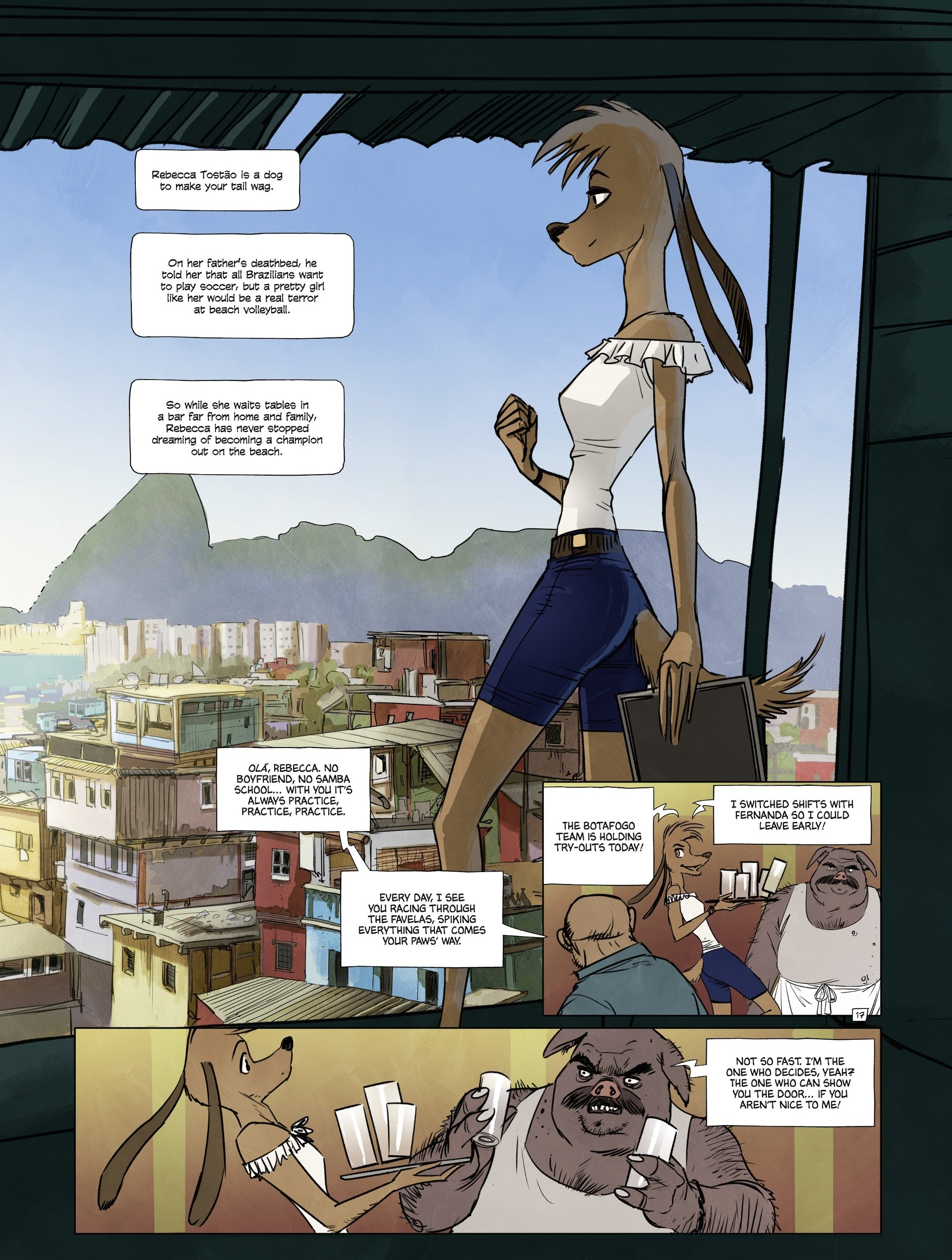 Read online Jack Wolfgang comic -  Issue #3 - 21