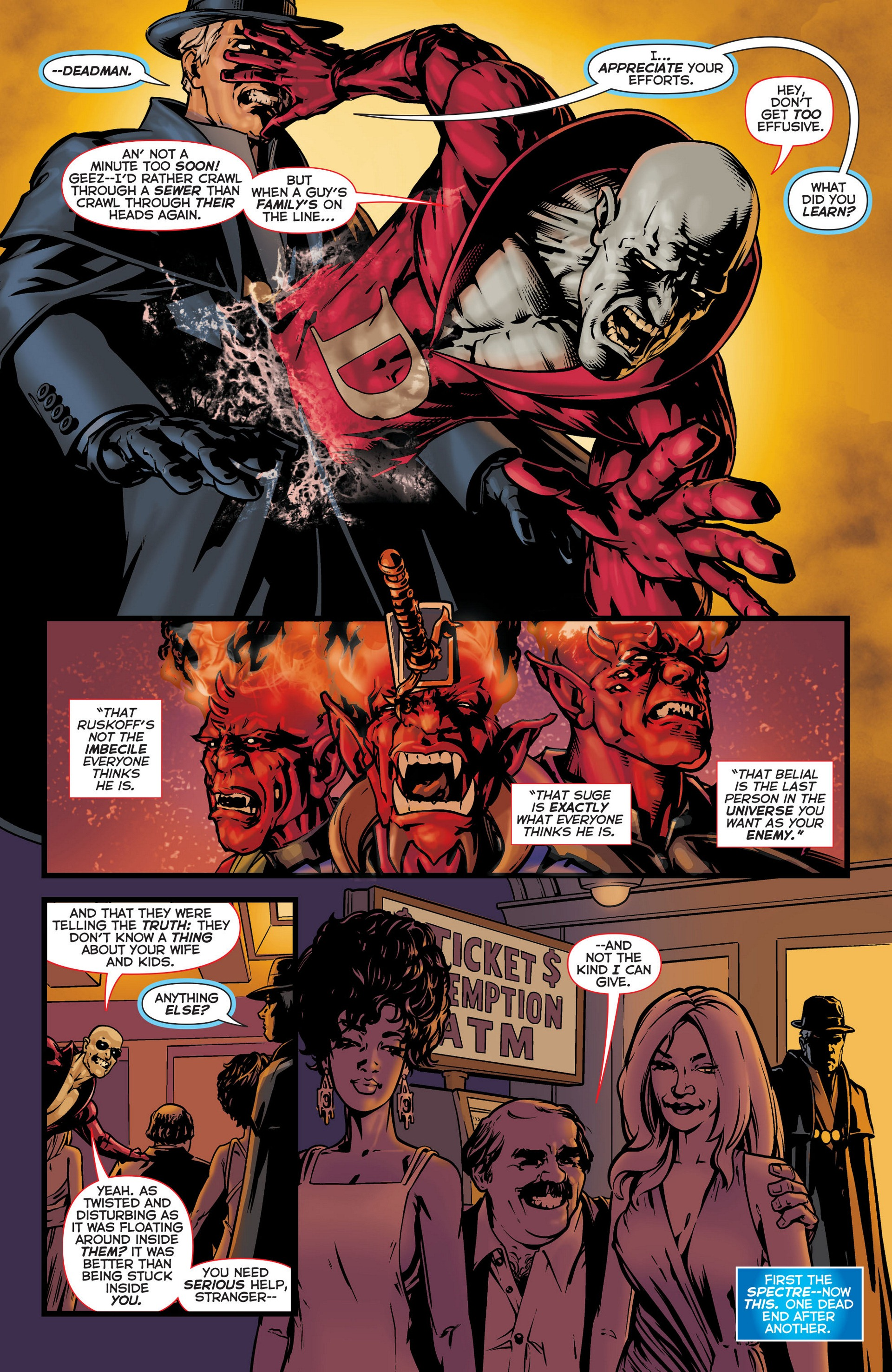 Read online Trinity of Sin: The Phantom Stranger comic -  Issue #6 - 18