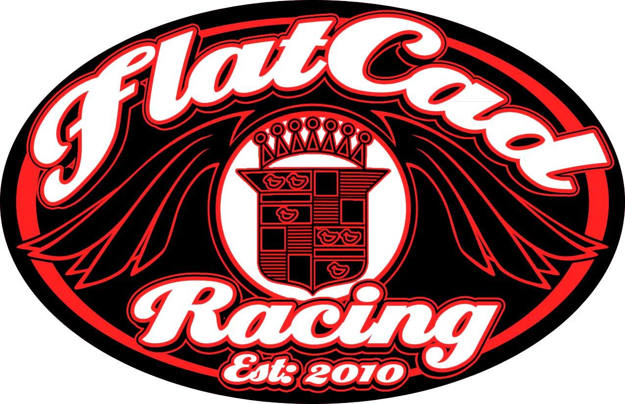 Design165: Flatcad Racing Stickers
