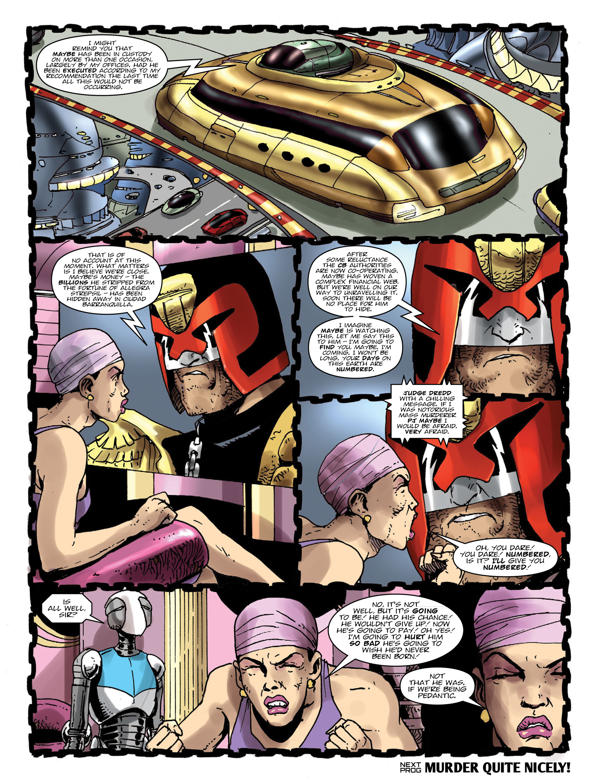 Read online 2000 AD comic -  Issue #1995 - 8