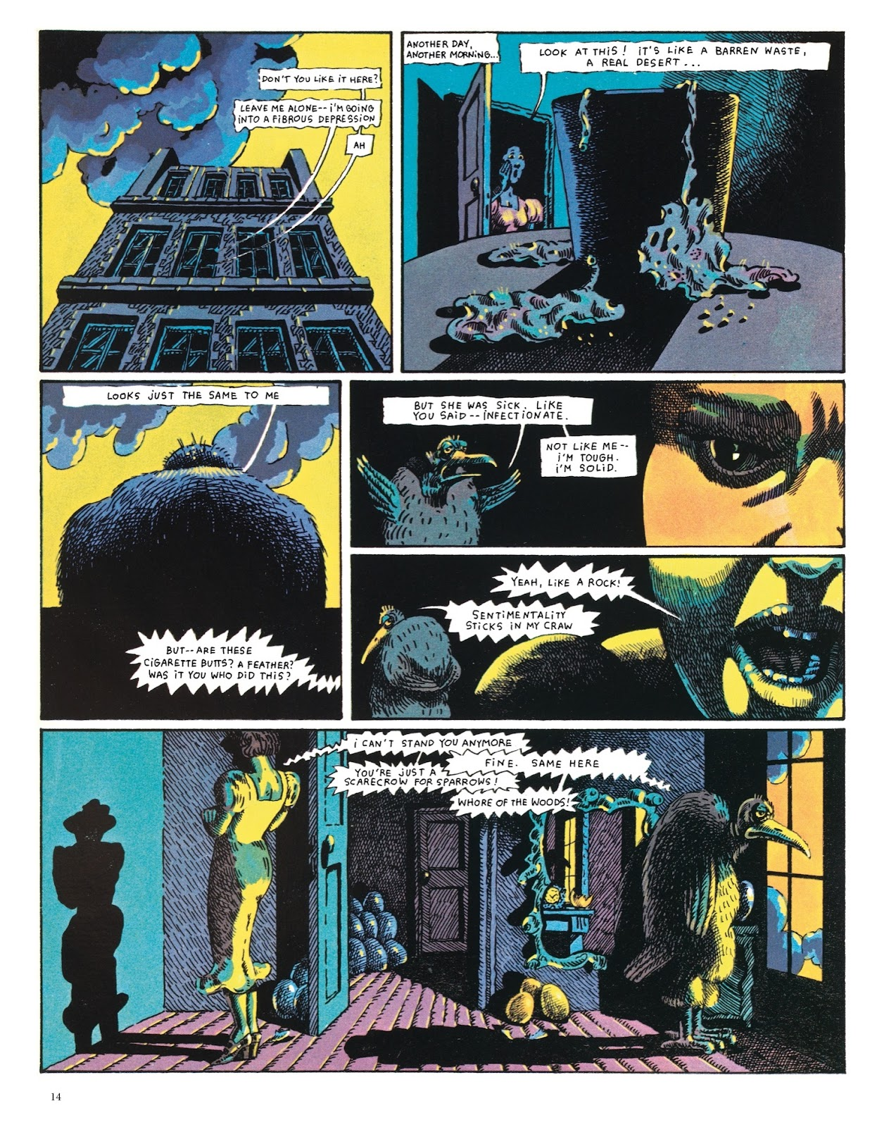 Read online The Green Hand and Other Stories comic -  Issue # TPB - 13