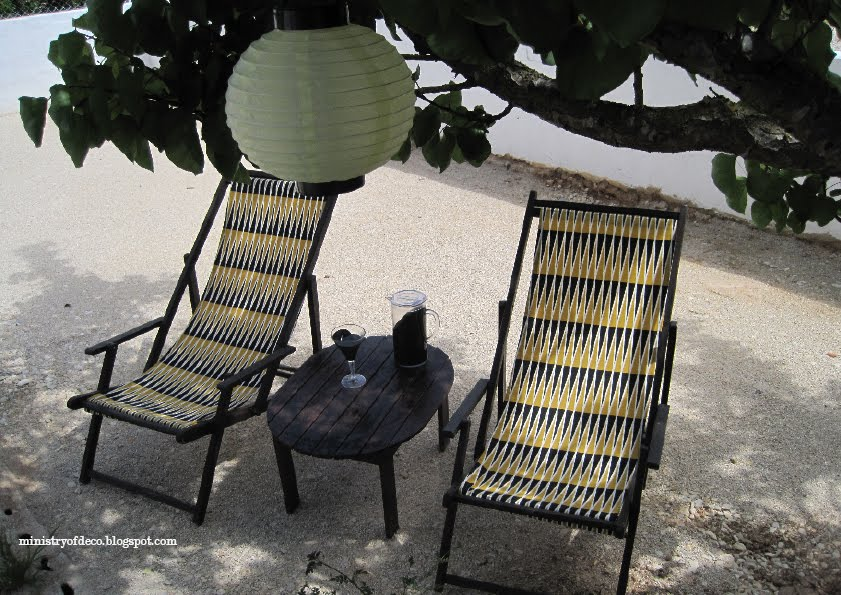 Segunda oportunidad para unos sillones de exterior - Telas exterior ikea ...