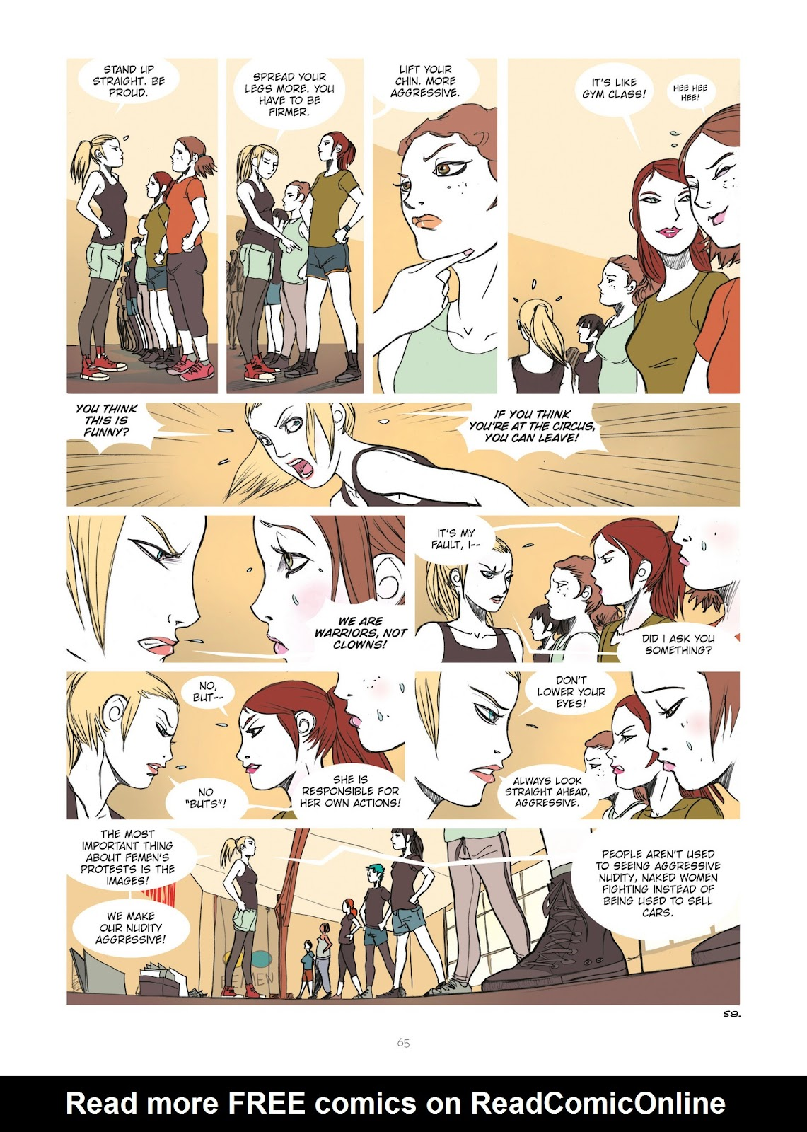 Read online Diary of A Femen comic -  Issue # TPB - 67