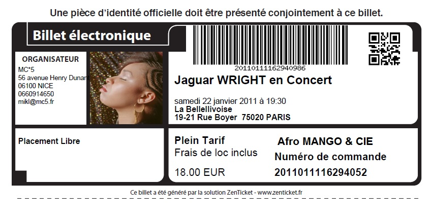 Jaguar wright à Paris