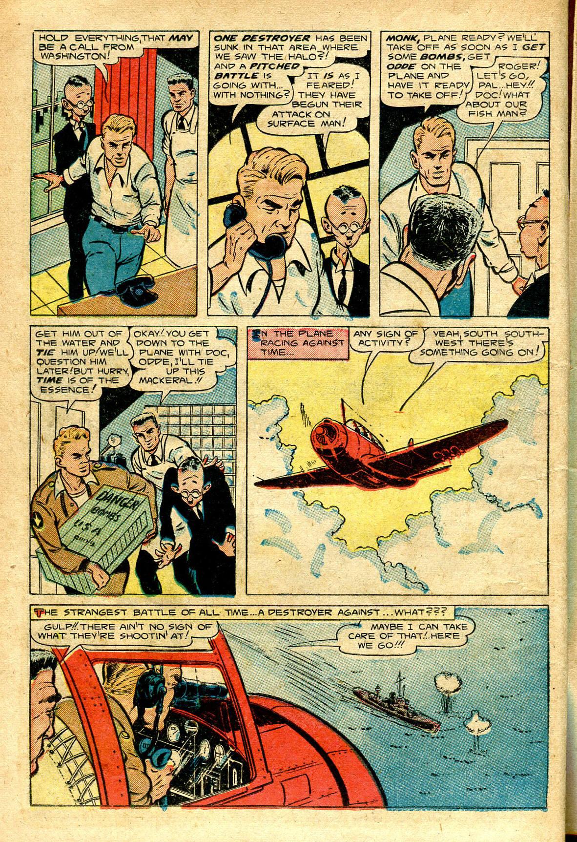 Read online Shadow Comics comic -  Issue #96 - 22