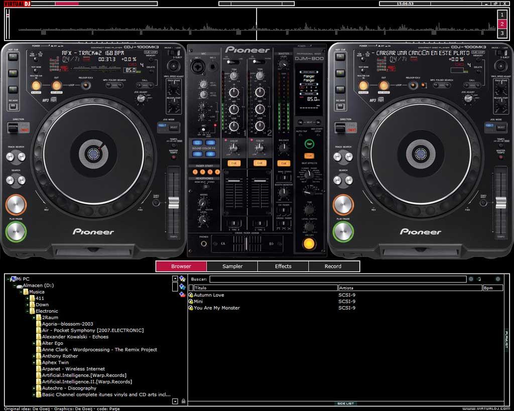 CDJ 2000 TÉLÉCHARGER POUR PIONEER GRATUIT DJ SKIN VIRTUAL
