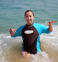 Having fun in the ocean at Aloha Beach Camp Summer Camp in Malibu, Los Angeles