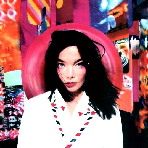 "kingy graphic design history: ROXY: 1990's - Björk ""Post"""