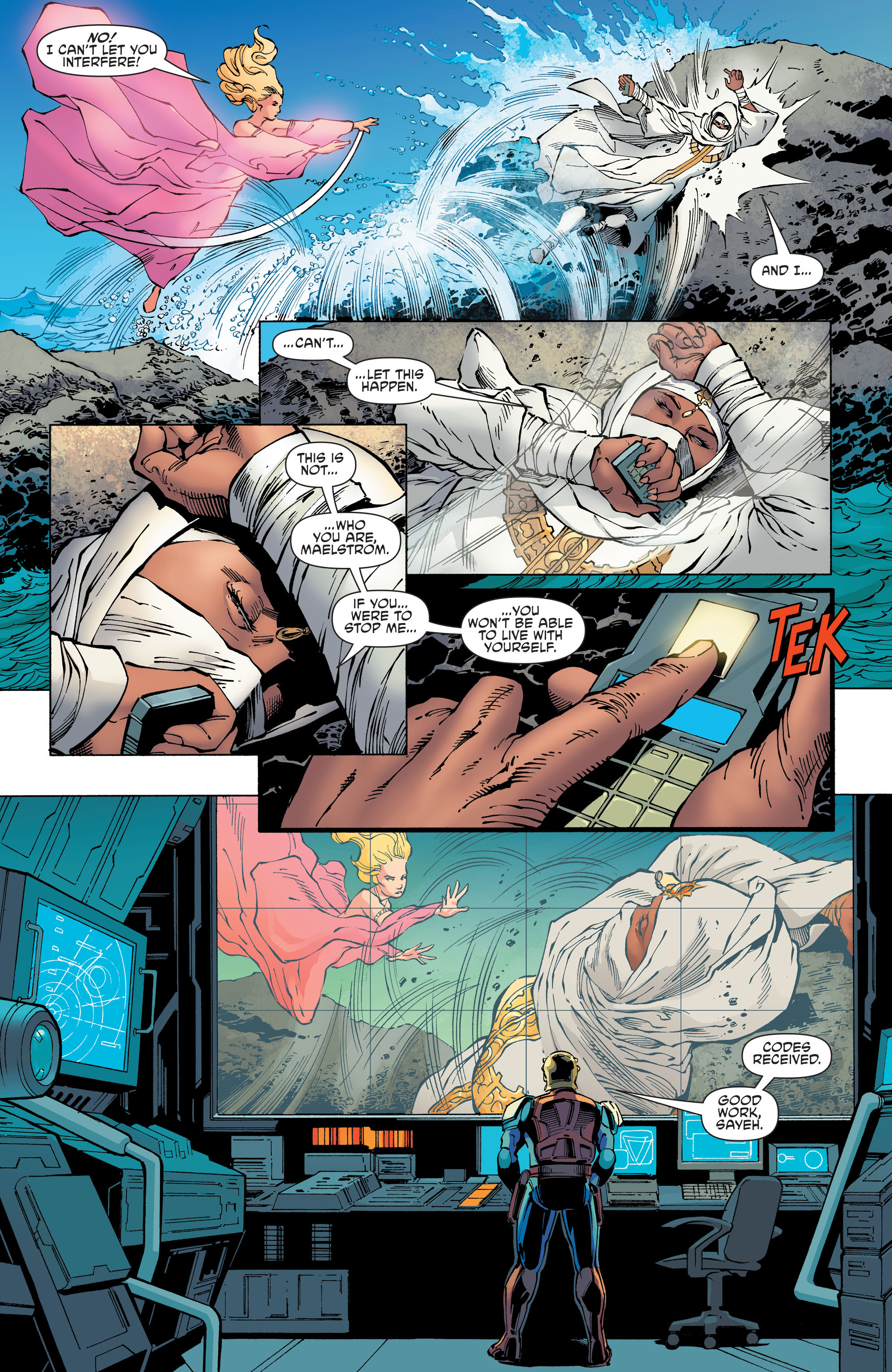 Read online Aquaman and the Others comic -  Issue #11 - 7